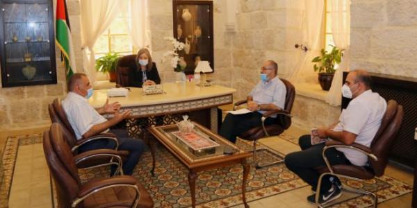 معايعة تلتقي نقاية أدلاء السياحة العرب ومركز السبيل