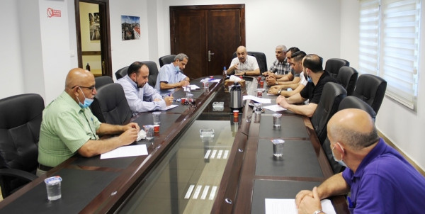 لقاء بين تجمع النقابات المهنية وغرفة تجارة وصناعة محافظة بيت لحم