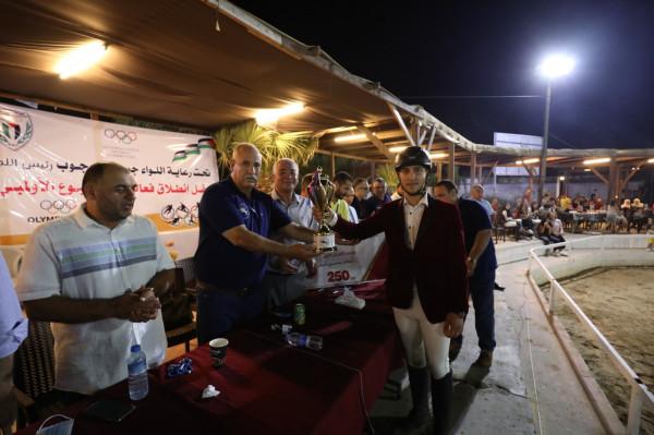 غزة.. مفاجآت في الجولة الثالثة من دوري الاتحاد للفروسية
