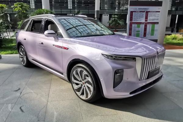 تسريب صور أفخم السيارات الصينية