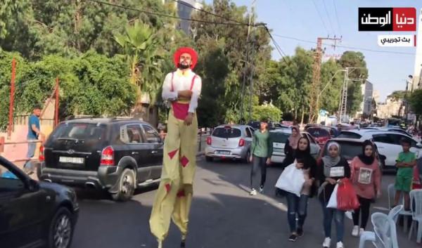 شاهد: تحضيرات المواطنين في قطاع غزة لاستقبال عيد الأضحى