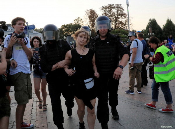 مظاهرات حاشدة في المانيا ضد القيود المفروضة بسبب جائحة (كورونا)
