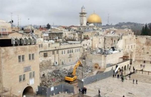الخارجية تطالب المجتمع الدولي تحمل مسؤولياته تجاه التصعيد الاستيطاني في القدس
