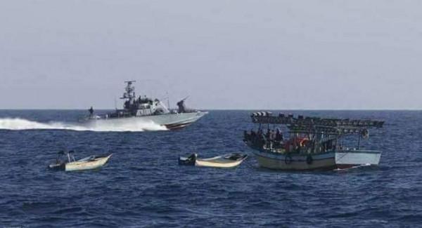العمل الزراعي: 20 انتهاكاً من قبل قوات الاحتلال بحق الصيادين خلال يوليو 2020