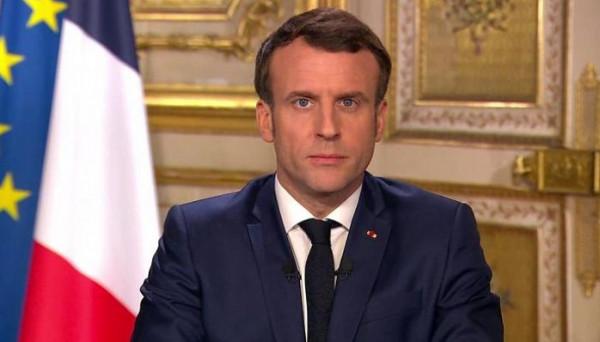 ماكرون: مساعدات فرنسية في طريقها إلى لبنان