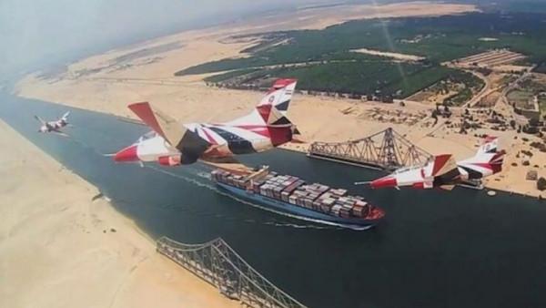 مصر تحتفل بالذكرى الخامسة لافتتاح قناة السويس الجديدة