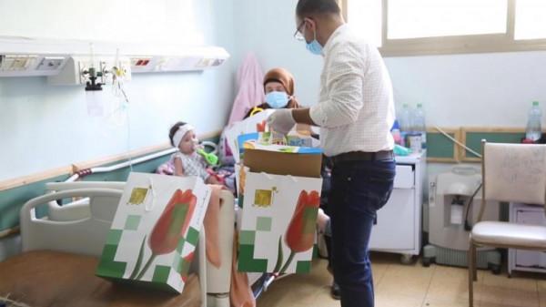 بنك القاهرة عمان يرعى حملة توزيع هدايا العيد على الأطفال في محافظات الوطن