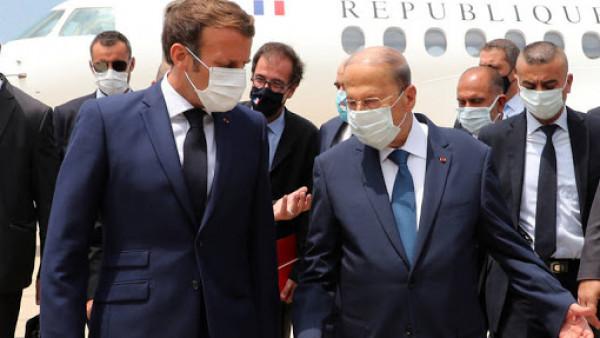 الرئيس الفرنسي: فرنسا لن تتخلى أبداً عن اللبنانيين