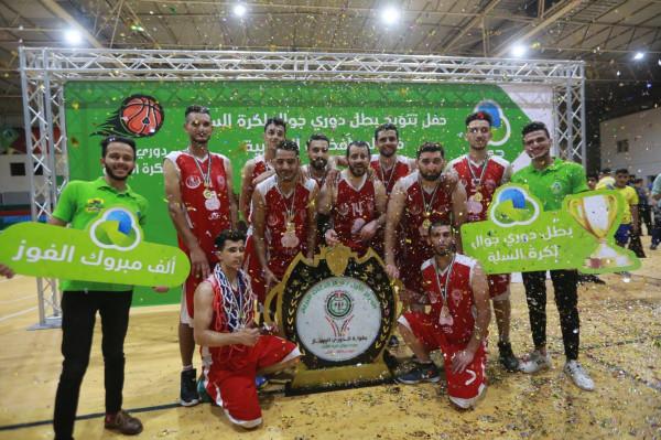 جوال تختتم دوري كرة السلة في المحافظات الجنوبية للموسم 2020- 2019