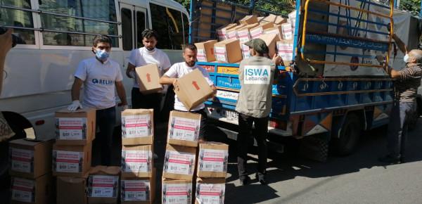 """مؤسسات الرعاية تطلق قافلة """"كرمال بيروت"""" برعاية بلدية صيدا"""