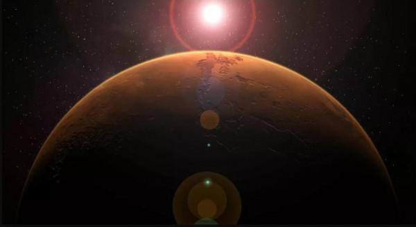 (ناسا): بقعة شمسية خطيرة بحجم كوكب المريخ تتجه نحو الأرض