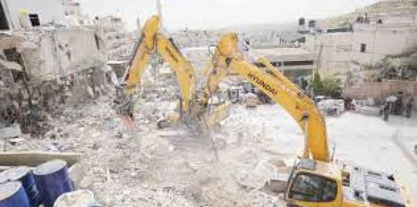 مركز (شمس): إسرائيل تُمهد للضم بتصعيد جريمة حرب هدم المنشآت