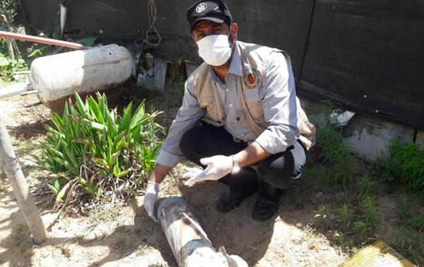 """غزة: """"هندسة المتفجرات"""" بالشـرطة تُعاين عددًا من الأجسـام المتفجرة"""