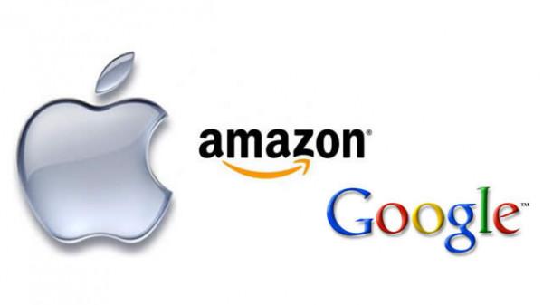 """""""جوجل"""" و""""أمازون"""" يتفوقان على """"آبل"""" في هذا التصنيف"""