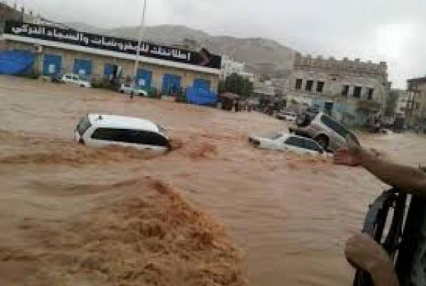 اليمن: ارتفاع حصيلة ضحايا السيول والأمطار إلى 172