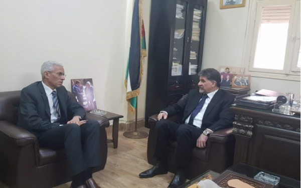 السفير الجزائري: بلادنا تدعم القضية الفلسطينية في جميع المحافل الدولية