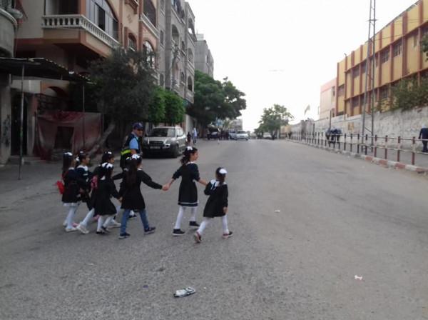 """""""التربية"""" بغزة: العملية التعليمية بالقطاع منتظمة ولا يُوجد ما يستدعي تعطيل الدراسة"""