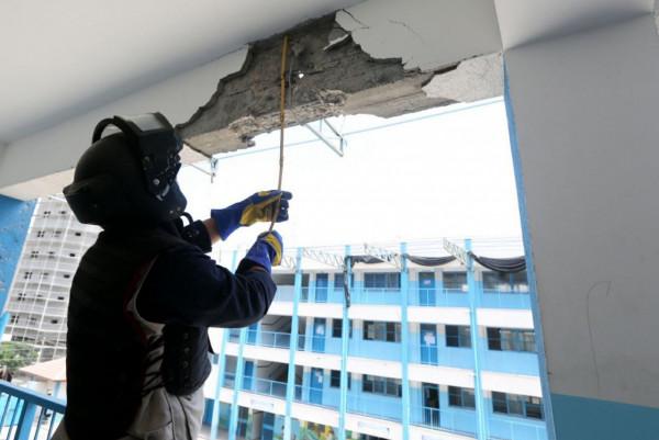 الخارجية الفلسطينية تُعلق على استهداف طائرة الاحتلال لمدرسة في غزة