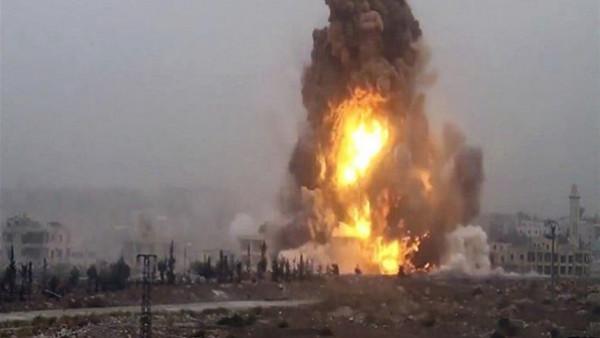 العراق: انفجار يستهدف رتلا يقدم دعما لوجستيا للتحالف الدولي