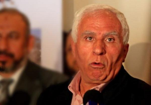 الأحمد: أناشد حركة (حماس) وقف استلام الأموال القطرية عبر إسرائيل