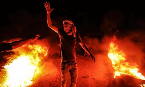 إصابتان برصاص الاحتلال الإسرائيلي خلال فعاليات الإرباك الليلي شرقي غزة