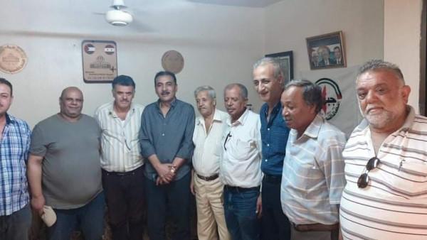 وفد مركزي من جبهة التحرير الفلسطينية يزور مكتب قيادة الساحة السورية