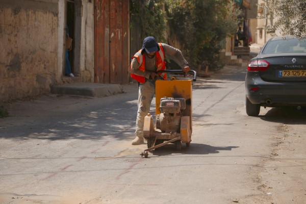 بلدية قلقيلية تشرع اليوم في تأهيل شبكة الصرف الصحي