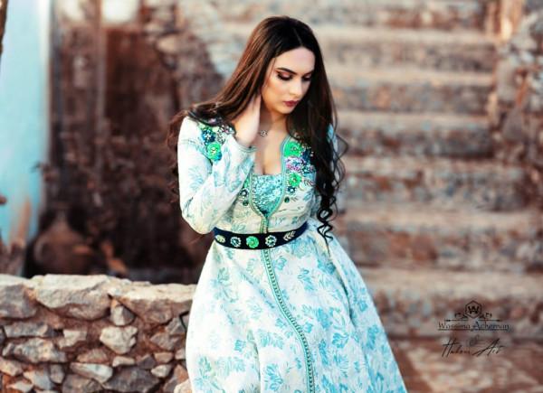 """المصممة المغربية """"وسيمة أشرنان"""": أنتمي إلى مدرسة التجديد والإبداع"""