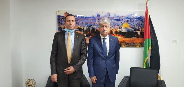 د. أحمد مجدلاني يؤكد على عمق ومتانة العلاقات الفلسطينية الفنزويلية