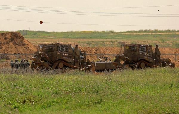 توغل إسرائيلي محدود شرقي مخيم البريج