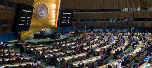 رئيس الجمعية العامة للأمم المتحدة: الحل الدائم للصراع يجب أن يستند لرؤية الدولتين