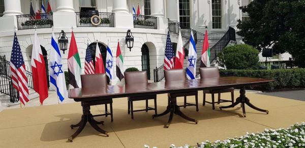 لم تذكر الدولة الفلسطينية.. طالع بنود اتفاق التطبيع الإماراتي البحريني مع إسرائيل