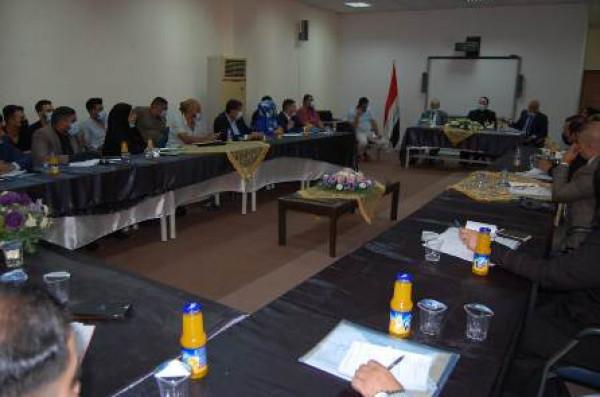 العمل: هيئة ذوي الإعاقة تعقد اجتماعاً موسعاً مع مديري أقسامها في المحافظات