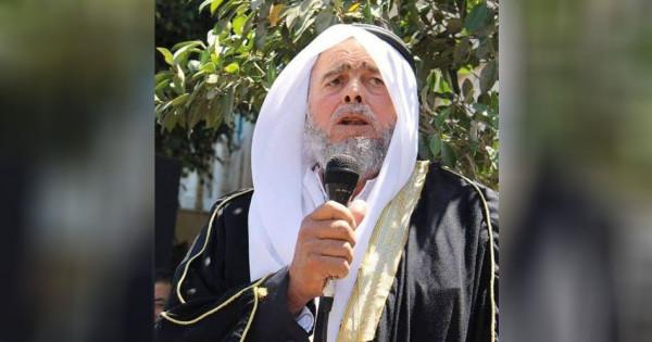 جماهير طوباس تشيع القيادي الشيخ أحمد نمر أبو عرة