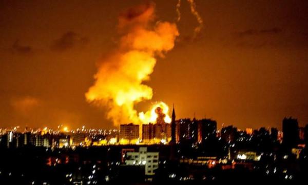 غانتس يُهدد حماس: قصفُنا الليلة الماضية كان غيضاً من فيض