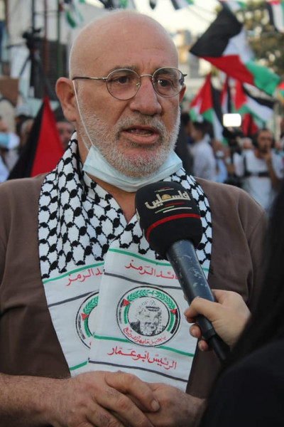 اللواء توفيق عبد الله: نقاوم ونتوحد من أجل العودة إلى فلسطين