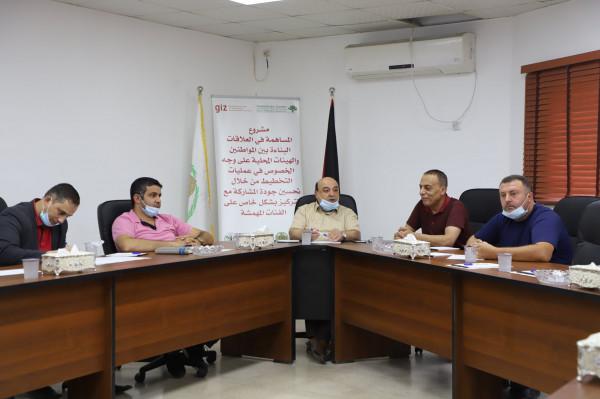 المركز الفلسطيني للاتصال ينفذ ورشة تدريبية حول جودة التخطيط في بلدية دورا
