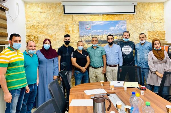 جمعية ذنابة الخيرية تشارك في اجتماع لمفوضية المنظمات الأهلية