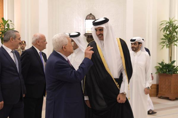نبيل شعث: قطر أبدت استعداداً لمنح السلطة قرضاً مالياً