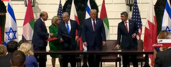 نتنياهو: سنرى الثمار الأولية للاتفاقيتين مع الإمارات والبحرين سريعاً جداً وستكون هناك دول أخرى