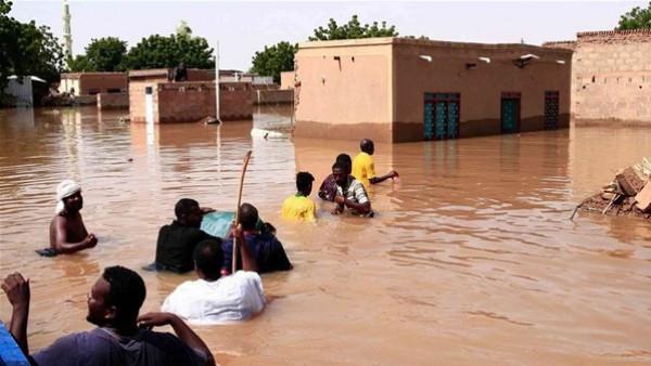 الدفاع المدني السوداني: مصرع 121 شخصا جراء الفيضانات والسيول