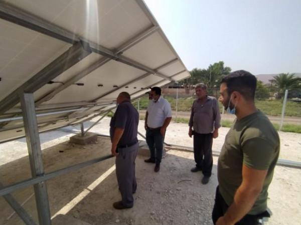 العمل الزراعي ينفذ تدريب متخصص في مجال أنظمة توليد الطاقة الشمسية
