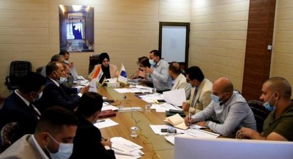 اللجنة العملياتية في مفوضية الانتخابات تواصل انعقادها الدائم مع منظمة الايفس