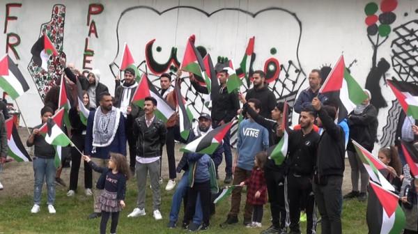 جمعية الرؤيا الفلسطينية بالسويد تنفذ فعالية رفضاً للتطبيع