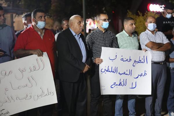 فصائل وقوى منظمة التحرير والفعاليات الرسمية والشعبية بأريحا تجدد وقوفها خلف الرئيس عباس