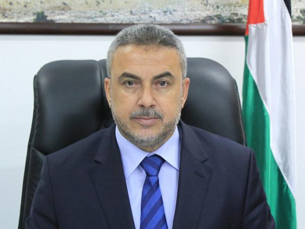 رضوان: التطبيع لن يُعطي الشرعية للاحتلال ونُحذر من الاستمرار بالتلكؤ بتنفيذ اتفاقات التهدئة
