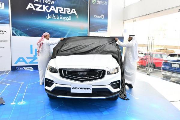 """صور: """"الوعلان"""" تزيح الستار عن سيارة جيلي أزكارا 2021 الجديدة كليًّا"""