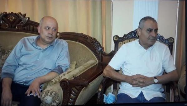 السفير دبور يزور سفير الجزائر مثمناً مواقف الرئيس تبون