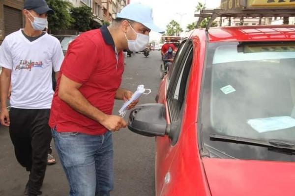 """تحت شعار """"المواطنة التزام"""".. منظمات الأحرار تطلق حملات للحد منتفشي (كورونا) بجهة البيضاء"""