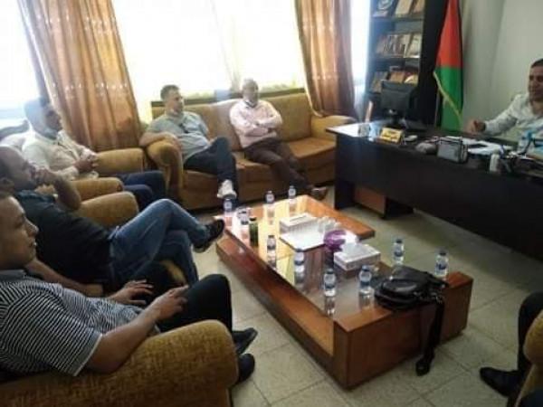 التوجيه السياسي في محافظة سلفيت يستضيف اجتماع القوى الوطنية في المحافظة